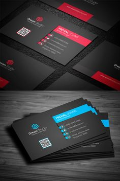 corporateidentity professional corporate business identity template modern card Modern Professional Business Card Corporate Identity TemplateYou can find Corporate identity and more on our website Business Cards Layout, Professional Business Card Design, Business Card Mock Up, Modern Business Cards, Corporate Business, Identity Card Design, Name Card Design, Corporate Identity Design, Identity Branding