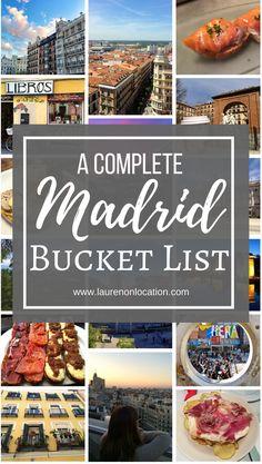 Esta lista de cubo de España incluye tantas cosas impresionantes