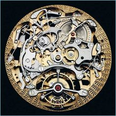 Opened watch showing mechanical movement - Audemars Piguet, Tourbillon répétition minutes squelette. - photography by Guido Mocafico, Edition of 7 2 AP Audemars Piguet, Cool Watches, Watches For Men, Men's Watches, Movement Photography, Art Photography, Watch Gears, Mechanical Art, Skeleton Watches