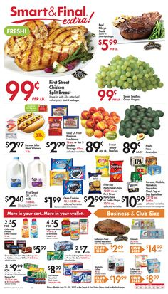 Smart and Final Weekly Ad June 21 - 27, 2017 - http://www.olcatalog.com/grocery/smart-and-final-weekly-ad.html