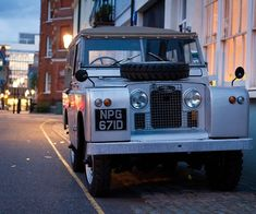 """Land Rover Series IIA Soft Top  """"If I had a car to drive were I to be driving this."""""""