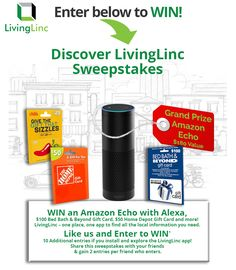 Win an Amazon Echo,