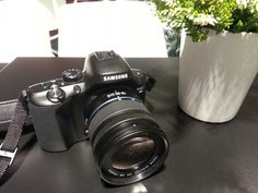 We are testing our new photo gear from Samsung! NX20 and NX 300
