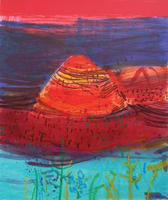 Autumn Sierra Silkscreen Print by Barbara Rae Abstract Landscape, Landscape Paintings, Abstract Art, Barbara Rae, Rise Art, Glasgow School Of Art, Art Courses, Buy Art Online, Silk Screen Printing