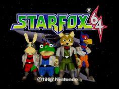 Console, jeu Nintendo Wii U Wii U, Star Fox 64, Mind Games, Game Character, Nintendo 64, Childhood Memories, Video Games, Nostalgia, Stars
