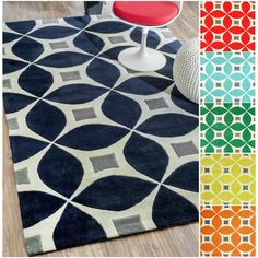nuLOOM Handmade Modern Disco Rug (5' x 8') - Overstock™ Shopping - Great Deals on Nuloom 5x8 - 6x9 Rugs