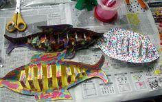 sardina de cartulina