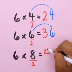 smart with these 10 math tricks! Are you a math whiz? Try out these cool math hacks!Are you a math whiz? Try out these cool math hacks! Math Worksheets, Math Resources, Math Activities, Math For Kids, Fun Math, Math Math, Math Vocabulary, Kindergarten Math, Teaching Math