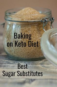 What are the best sugar substitutes for baking on the keto diet? Sugar alcohols and natural sugar substitutes are are good alternatives to sugar. Keto Pumpkin Pie, Pumpkin Recipes, Avocado Recipes, Keto Recipes, Keto Desserts, Dessert Recipes, Sugar Substitutes For Baking, Best Sugar Substitute, Keto Diet Guide