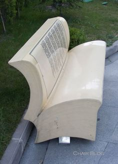 Istanbul Street Bench: Sit on a Book for a change