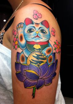 maneki neko tattoo - Google Search