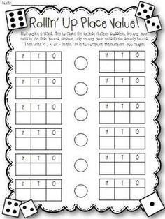 Dice, Dice, Baby! {17 Math Activities Using Dice} by Lauren Lynes | Teachers Pay Teachers