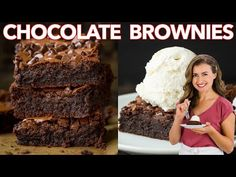 Meatloaf Recipes, Brownie Recipes, Pie Recipes, Cookie Recipes, Chicken Recipes, Dessert Recipes, Best Fudgy Brownie Recipe, Fast Recipes, Homemade Brownies