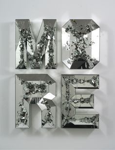 MORE (shattered pour) by Doug Aitken (2013)