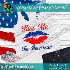 Free Svg Cut Files, Svg Files For Cricut, American Women, American Flag, Making Shirts, Nerd Geek, Transfer Paper, Kiss Me, Svg Cuts