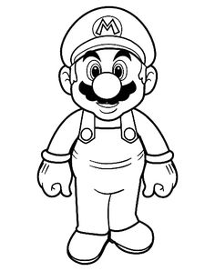 Mario Brothers Activity Pages | pages 3 mario coloring pages mario kart browser coloring pages mario ..