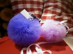 Pompony fiolet&lawenda