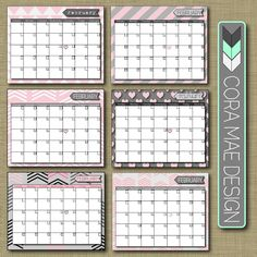 Free Printable Calendar + so much more @Corey Reece . Mae Design