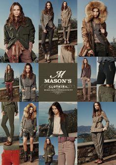 Mason's Woman adv cardboard