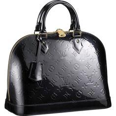 Shoulder Lv Comfortable Finest Materials Alma Black Louis Vuitton Women And Good-feeling Totes Best Price Bags Luxury UK Sale Monogram Vernis