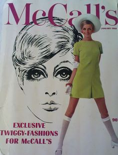 Twiggy Fashion patterns