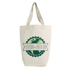 Every Day is Earth Day Farmer Market Tote by HomArt - Seven Colonial Earth Day, Farmers Market, Shopping Bag, Reusable Tote Bags, Marketing, Canvas Totes, Colonial, Trips, Graphics