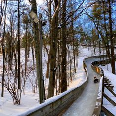 The Muskegon Winter Luge & Sports Complex is the only experience of its kind in Michigan, and is a great way to satisfy anyone's need for winter speed.
