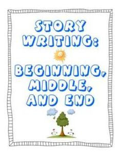 UPDATED, FREEBeginning, Middle, End Printable PDFPDF:  54 pages beginning, middle, and end story writing and planning generic worksheets for di...
