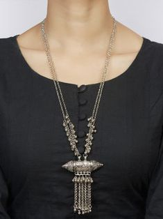 Handcrafted Brass Dholki Necklace