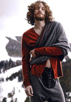 dream model! love the hair, beard, style. Max Rogers is Rugged