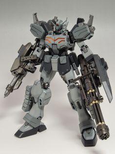 MG 1/100 Gundam Heavyarms EW - Painted Build