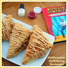Fluffernutter Puff Pastry Turnovers