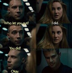 Four is like yes Tris!
