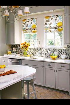 Sunshine inspired kitchen