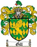 gill coat of arms irish | Click Here To View Our gill coat of arms / gill Family Crest Products