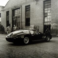midcenturymodernfreak:  c.1957Maserati 450S Costin-Zagato Coupe(Maserati Factory) | Gelatin Silver Print: Jesse Alexander -Via