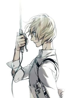 Love the style of Armin in this awesome Attack on Titan (Shingeki no Kyojin) art.