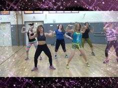another video of Bambalam choreo by Kass Martin.  poor sound quality. #zumba