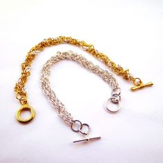 Braided Chains-if you know how to braid-you can make this bracelet with a few basic jewelry supplies