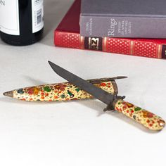 Vintage Knife with a Decorative Case Knife with by CozyTraditions