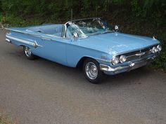 1960 Chevy Impala Convertible #Chevyclassiccars