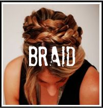 Braided Updo Tutorial (cupcakes and cashmere blog)