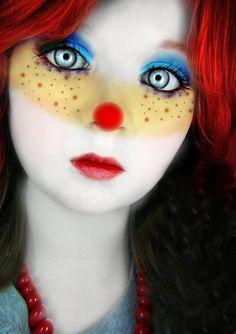 Make a Halloween Clown Makeup Halloween Clown, Halloween Make Up, Halloween Face Makeup, Halloween 2015, Adult Halloween, Halloween Party, Clown Mignon, Clown Maske, Cute Clown Makeup