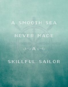 A smooth sea - 11x14 typography wall art, Typography poster, childrens art,  nursery 52acdda36d8