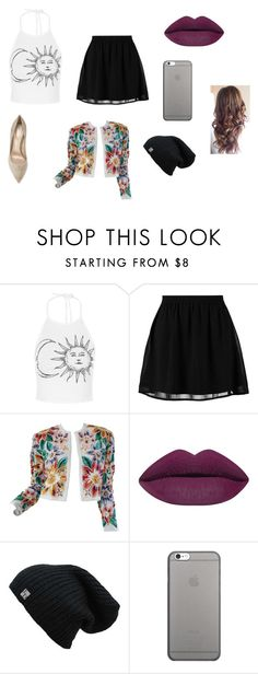 """""""Cinee"""" by lilicabsilveira-1 on Polyvore featuring moda, even&odd, Naeem Khan, Native Union e Gianvito Rossi"""