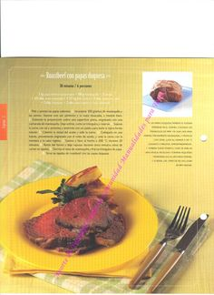 roastbeef con papas duquesas Food, Crimping, Oven, Roast Beef, Meals, Yemek, Eten