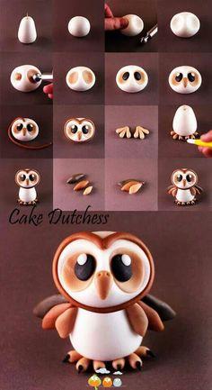 Sculpy Clay Owl