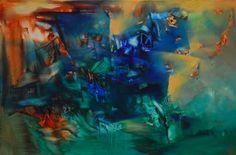 """Sitiado"" - Paula Barbella - Oleo sobre tela - 80 x 120 cm - www.esencialismo.com"