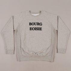 Love this Soulland Bourgeoisie sweatshirt!