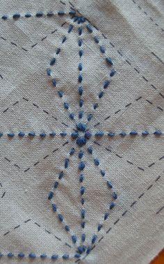 SASHIKO Embroidery Tutorial: http://www.purlbee.com/embroidery-tutorials/2008/1/18/sashiko.html